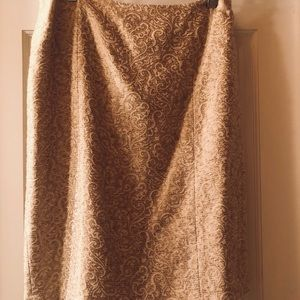 Vintage Ann Taylor cocktail  skirt